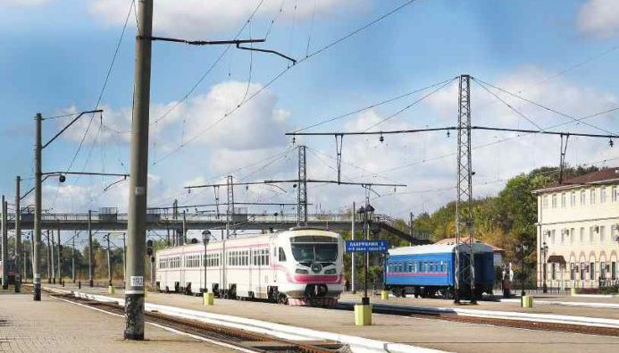 Поезд Пассажирская служба Государственное предприятие Донецкая железная дорога Донецкая народная республика
