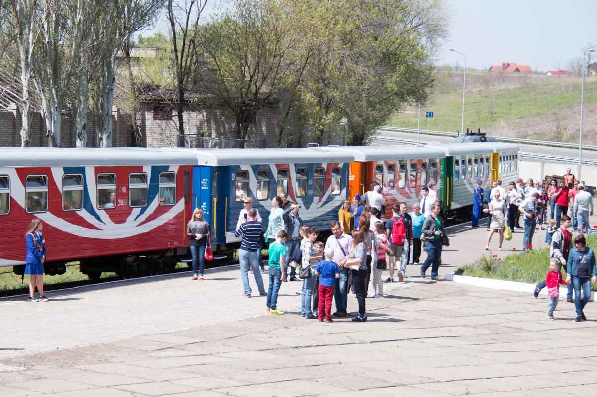 Детская железная дорога вагоны Государственное предприятие Донецкая железная дорога Донецкая народная республика