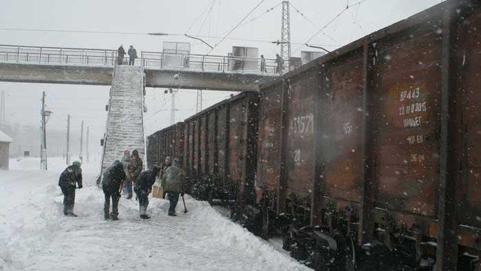 Снегоборьба Государственное предприятие Донецкая железная дорога Донецкая народная республика