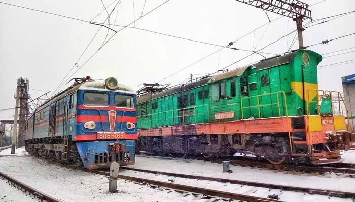 Поезд зима Государственное предприятие Донецкая железная дорога Донецкая народная республика