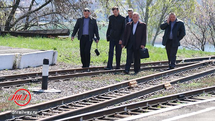 Обход пути Детская железная дорога Государственное предприятие Донецкая железная дорога Донецкая народная республика