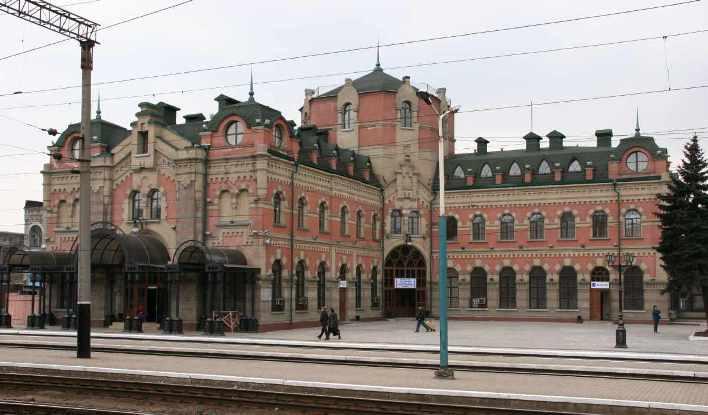 Вокзал Дебальцево Государственное предприятие Донецкая железная дорога Донецкая народная республика