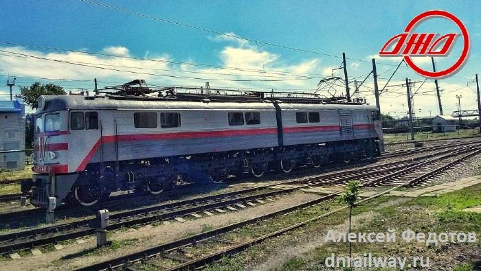 Тепловоз Пассажирская служба ГП Донецкая железная дорога Донецкая народная республика