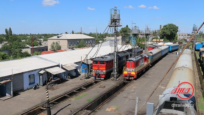 Осмотр поезда ГП Донецкая железная дорога Донецкая Народная республика
