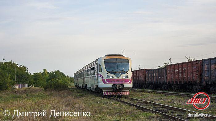 Электричка Донецк 2 ГП Донецкая железная дорога Донецкая Народная республика