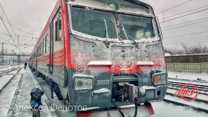 Зима электричка служба пассажирских перевозок ГП Донецкая железная дорога