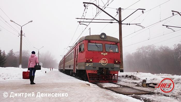 Электричка 2Т 7090 2019 служба пассажирских перевозок ГП Донецкая железная дорога