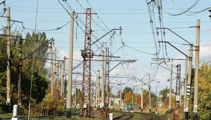 Железнодорожные пути ГП Донецкая железная дорога