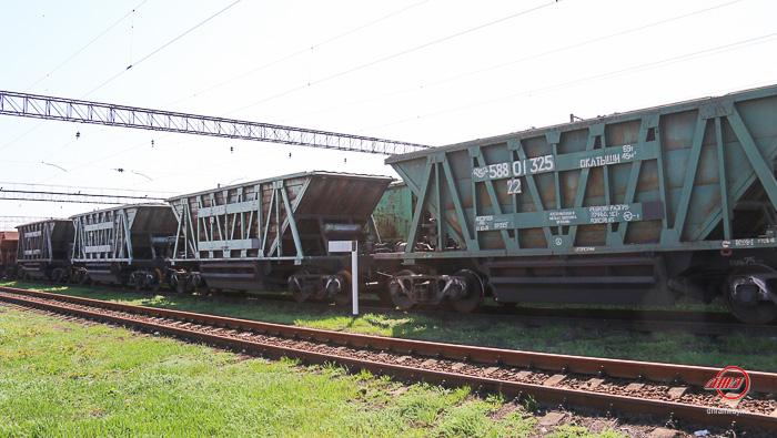 Грузовые вагоны службы грузовых перевозок ГП Донецкая железная дорога
