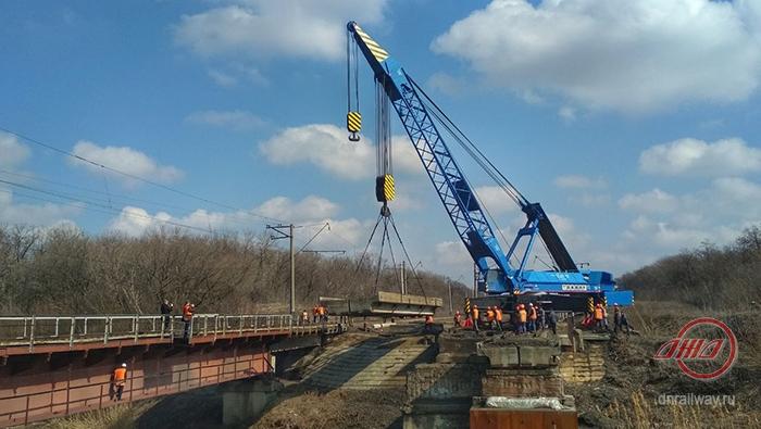 Ремонт железнодорожных путей ГП Донецкая железная дорога