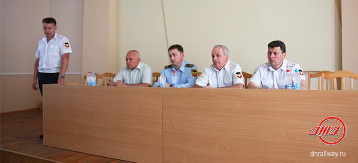 Комиссия осмотр Государственное предприятие Донецкая железная дорога Донецкая народная республика