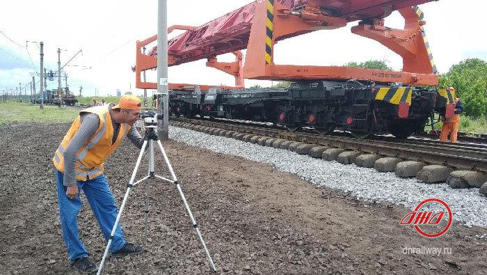 Железнодорожный путь Служба пути Государственное предприятие Донецкая железная дорога Донецкая народная республика
