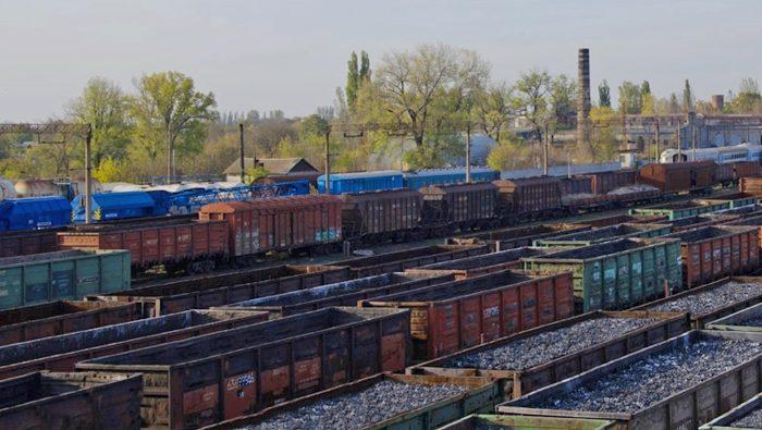 Вагоны службы грузовых перевозок ГП Донецкая ЖД уголь