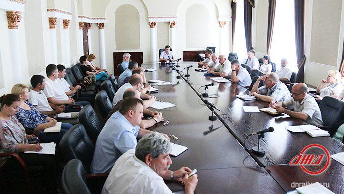 Заседание Государственного предприятия Донецкая железная дорога Донецкой Народной Республики