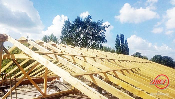 Ремонт восстановление крыша Государственное предприятие Донецкая железная дорога Донецкая народная республика