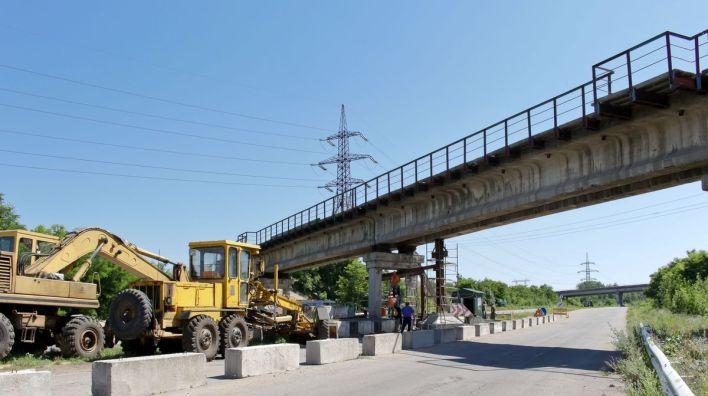 гп джд донецкая железная дорога мост чумаково ларино путепровод