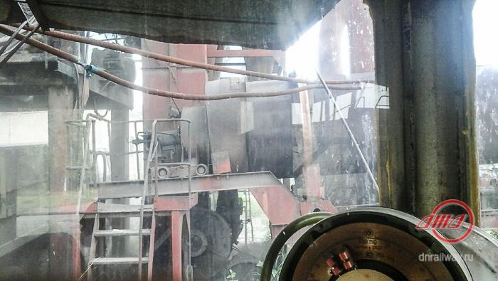 Асфальт окно сайт 4 ГП Донецкая железная дорога Донецкая Народная республика