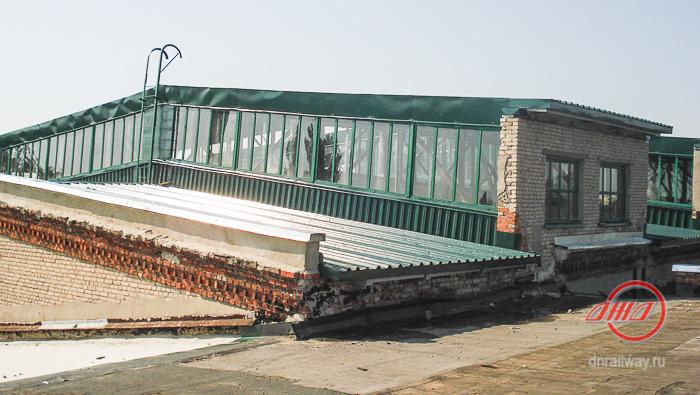 крыша сайт (4) ГП Донецкая железная дорога Донецкая Народная республика кровля строители