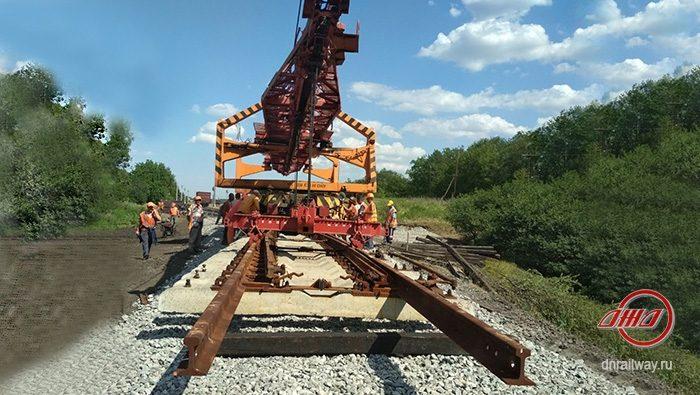 ремонт пути Донецкая железная дорога