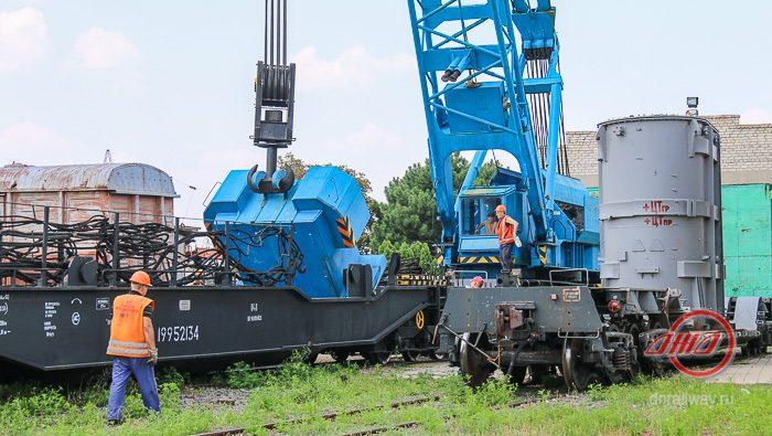 Трансформатор установка ГП Донецкая железная дорога Донецкая народная республика