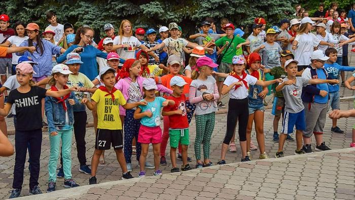 Детский лагерь Гагарин Государственное предприятие Донецкая железная дорога Донецкая народная республика