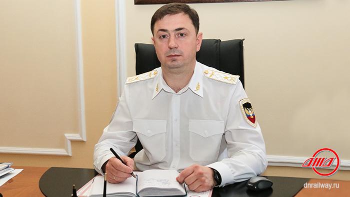 Генеральный директор ГП Донецкая железная дорога Донецкая народная республика