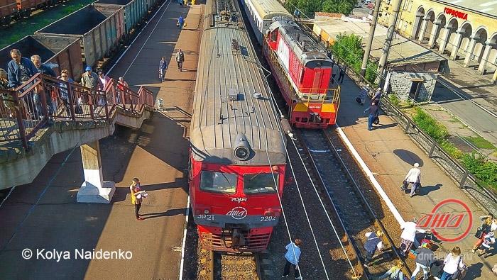 Станция Горловка-Никитовка Сайт ГП Донецкая железная дорога Донецкая народная республика