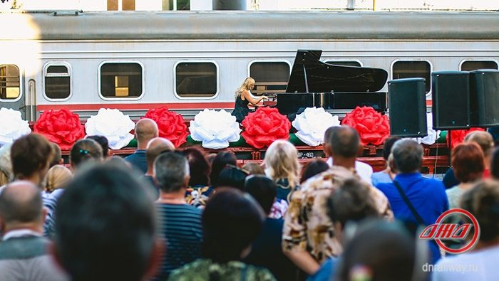 Лисица концерт Дебальцево Государственное предприятие Донецкая железная дорога Донецкая народная республика