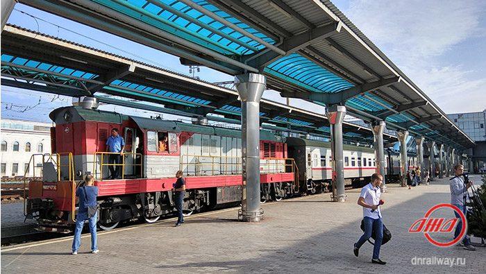 Открытие железнодорожный вокзал Донецк Государственное предприятие Донецкая железная дорога Донецкая народная республика
