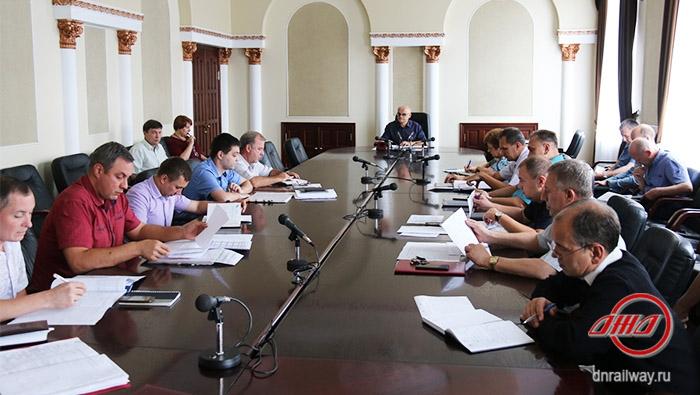 Селекторное совещание ГП Донецкая железная дорога Донецкая народная республика