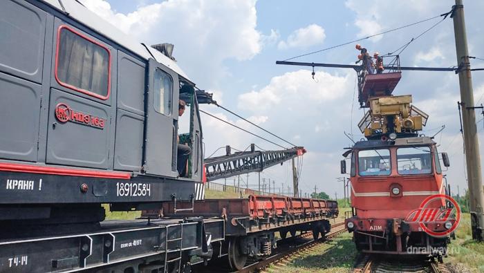 Энергетики ГП Донецкая железная дорога Донецкая народная республика