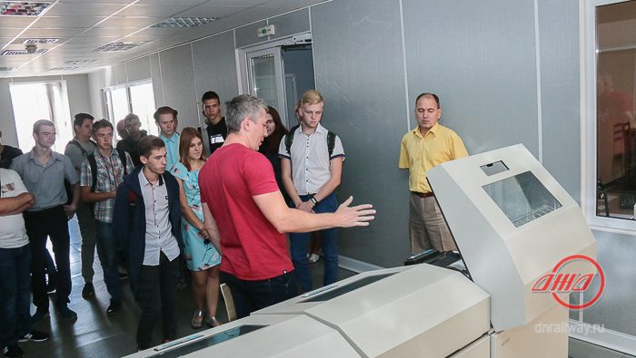 Студенты Инженерно-вычислительный центр Государственное предприятие Донецкая железная дорога Донецкая народная республика