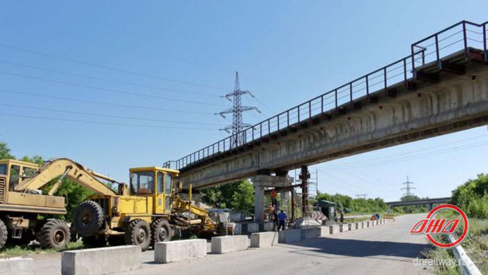 Мост восстановление Государственное предприятие Донецкая железная дорога Донецкая народная республика