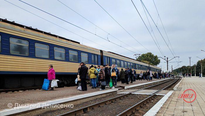 Электричка Пассажирская служба Государственное предприятие Донецкая железная дорога Донецкая народная республика