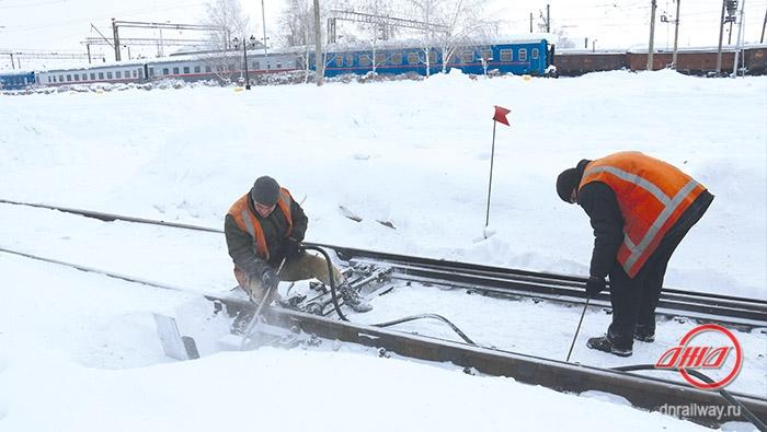 Подготовка к зимнему сезону Государственное предприятие Донецкая железная дорога Донецкая народная республика