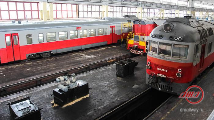 Депо локомотивы Государственное предприятие Донецкая железная дорога Донецкая народная республика