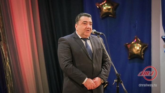 Новый год концерт Государственное предприятие Донецкая железная дорога Донецкая Народная республика