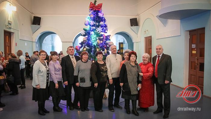 Новый год концерт награждение Государственное предприятие Донецкая железная дорога Донецкая Народная республика