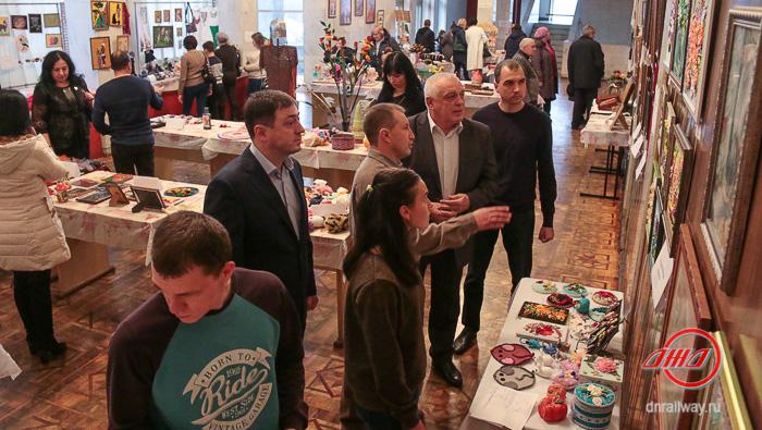 Город мастеров фестиваль Государственное предприятие Донецкая железная дорога Донецкая Народная республика