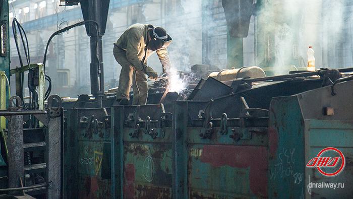 Вагон ремонт Государственное предприятие Донецкая железная дорога Донецкая Народная республика
