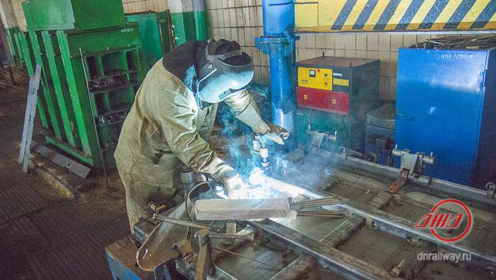 Рабочий сварка охрана труда Государственное предприятие Донецкая железная дорога Донецкая Народная республика